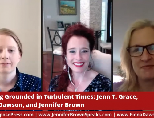 The Jen(n) Show with Fiona Dawson: Staying Grounded in Turbulent Times