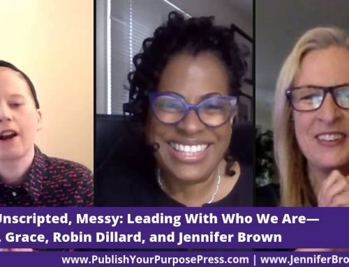 The Jen(n) Show with Robin Dillard: Raw, Unscripted, Messy Leading who we are